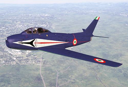 """Pattuglia Acrobatica """"Frecce Tricolori"""" , livrea iniziale"""