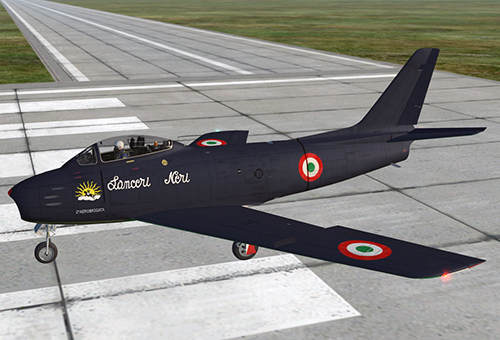 "Pattuglia Acrobatica italiana ""Lanceri Neri"""