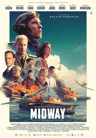 "Locandina del film  ""Midway"" (2019)"