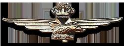 Fregio da  Pilota  della Regia Aeronautica
