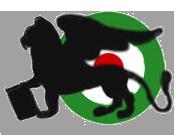 Stemma 72a Squadriglia nel 1918: il leone alato